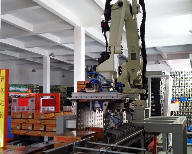 Robot ngành ngũ cốc và dầu ăn